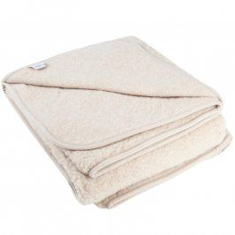 Přirodní deka z ovčí vlny Merino