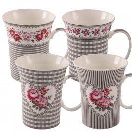 Porcelánové hrnečky 4 ks