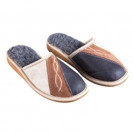Dámské pantofle s výšivkou vel. 36