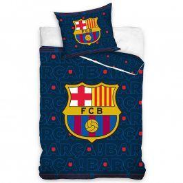 Dětské ložní povlečení FC Barcelona II 140 x 200 cm, 70 x 90 cm