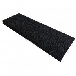 Vopi Koberec na schody obdélník Quickstep antracit 24 x 65 cm
