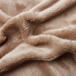 Hermann Cotton Napínací prostěradlo SLEEPWELL mikroplyš čokoládové 180 x 200 cm