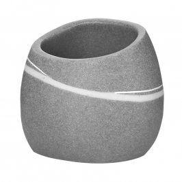 Kelímek do koupelny Stone šedý