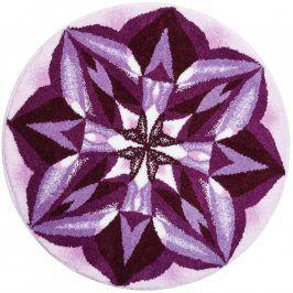 Vopi Koberec s protiskluzovou úpravou Mandala Smysluplnost průměr 100 cm