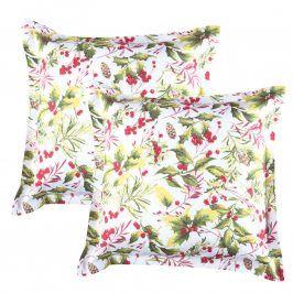 Povlaky na polštářky Poinsettia 2 ks