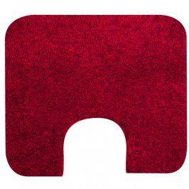 Grund Koupelnová předložka Tassos červená, GRUND k toaletě 55 x 50 cm