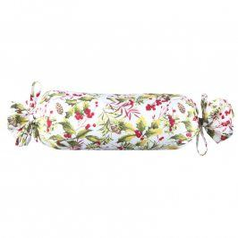 Dekorační polštář Poinsettia válec