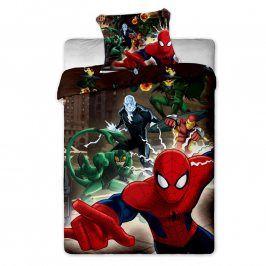 Dětské ložní povlečení Spiderman 140 x 200 cm, 70 x 90 cm