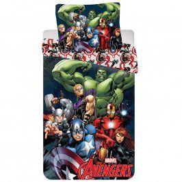 Dětské ložní povlečení Avengers 140 x 200 cm, 70 x 90 cm