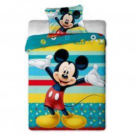 Jerry Fabrics povlečení Mickey Tyrkys bavlna 140x200 70x90