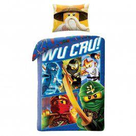 Halantex bavlna povlečení Lego Wu Cru! 140x200 70x90