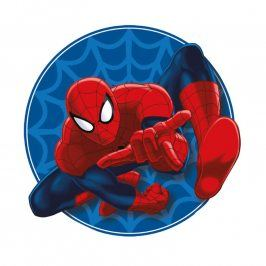 Dětský polštářek Spiderman tvarovaný