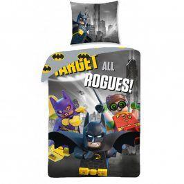 Dětské ložní povlečení Lego Batman 140 x 200 cm, 70 x 90 cm