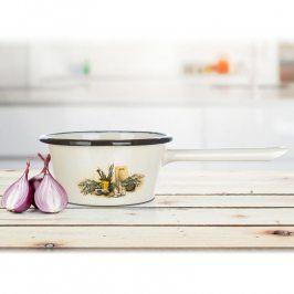 BANQUET Smaltovaný rendlík Lavender