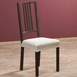 Nueva Textura decoDoma napínací potah multielastický REBECA smetanové židle 2 ks 40 x 40 cm