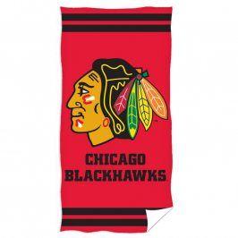 Osuška NHL Chicago Blackhawsk 70 x 140 cm