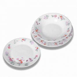 Florentyna Sada talířů Arabis, 18 kusů