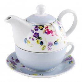 Florentyna Porcelánová čajová souprava LUNA pro jednoho