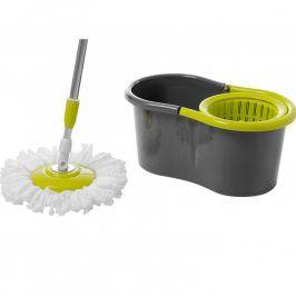 Florentyna Rotační mop Tornádo s kbelíkem zelený