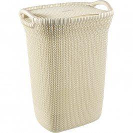 Curver Koš na špinavé prádlo KNIT 57L (03676- X64), béžový