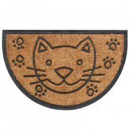 Rohožka půlkruh BOMBAY kočka
