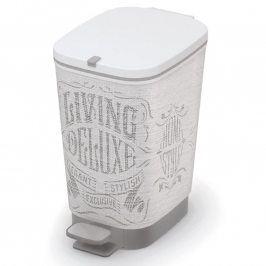 Plastový odpadkový koš do koupelny CHIC Laundry Bag S