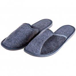 Pánské luxusní filcové pantofle Uzavřené 44