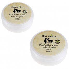 Botanico denní a noční krém s kozím mlékem a medem 50 g+50 g