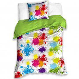 Tip Trade Bavlněné  povlečení barevné KAŇKY 140 x 200 cm, 70 x 90 cm
