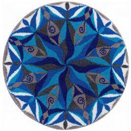 Vopi Koberec s protiskluzovou úpravou Mandala PLYNUTÍ 80 cm