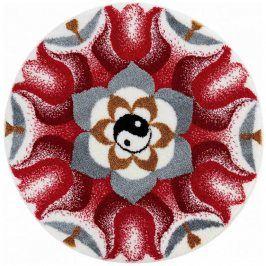 Vopi Koberec s protiskluzovou úpravou Mandala HARMONIE PROTIKLADŮ 60 cm