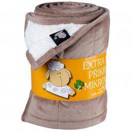 Svitap deka mikrovlákno ovečka oříšek Sleep Well prošev 150x200
