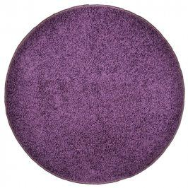 Vopi Kulatý koberec SHAGGY fialový průměr - 120 cm