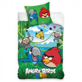 Tip Trade bavlna povlečení Angry Birds Jungle 140x200 70x80
