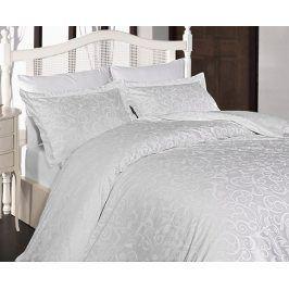 Povlečení Sweta bílé 220x200 dvojlůžko - standard Bavlněný satén