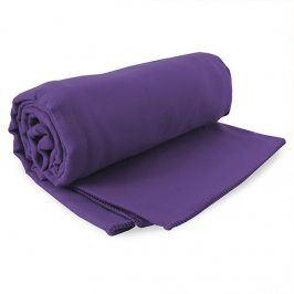 Rychleschnoucí ručník Ekea fialový 60x120 cm fialová