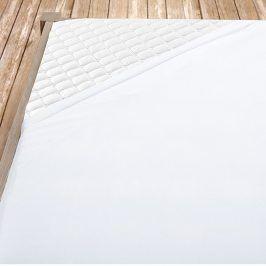 Bílé bambusové jersey prostěradlo Jednolůžko Bambus - jersey