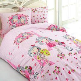 Dětské povlečení Love 140x200 jednolůžko - standard bavlna