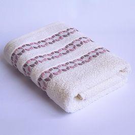 Bambusový ručník Kiara Ecru 50x90 cm Ručník