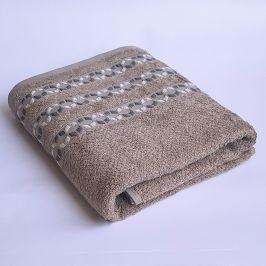 Bambusový ručník Kiara šedý 50x90 cm Ručník