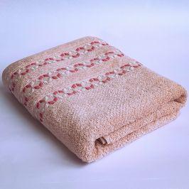 Bambusový ručník Kiara růžový 50x90 cm Ručník
