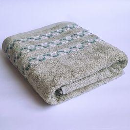 Bambusový ručník Kiara zelený 50x90 cm Ručník