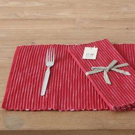 Prstírání Home design červené 30 x 45 cm červená