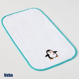 Dětský ručník Tučňák 30x50 cm bílá