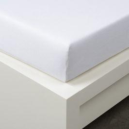 Napínací prostěradlo Tencel bílé Jednolůžko - standard 48% tencel, 48% bavlna, 4% elastan