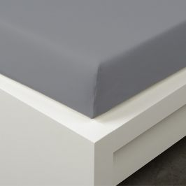 Napínací prostěradlo Tencel šedé Jednolůžko - standard 48% tencel, 48% bavlna, 4% elastan