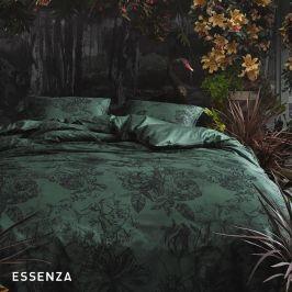 Povlečení Essenza Vivienne Green 140x200 jednolůžko - standard Bavlněný satén