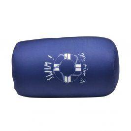 Polštářek Swim 30x17 cm modrá