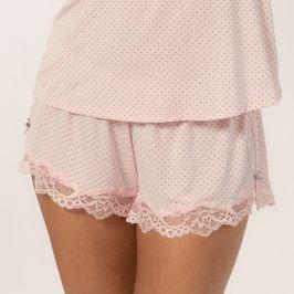 Dámské šortky na spaní Eleni  světlerůžová