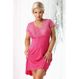 Dámská noční košilka Kristel Fuchsia  růžová